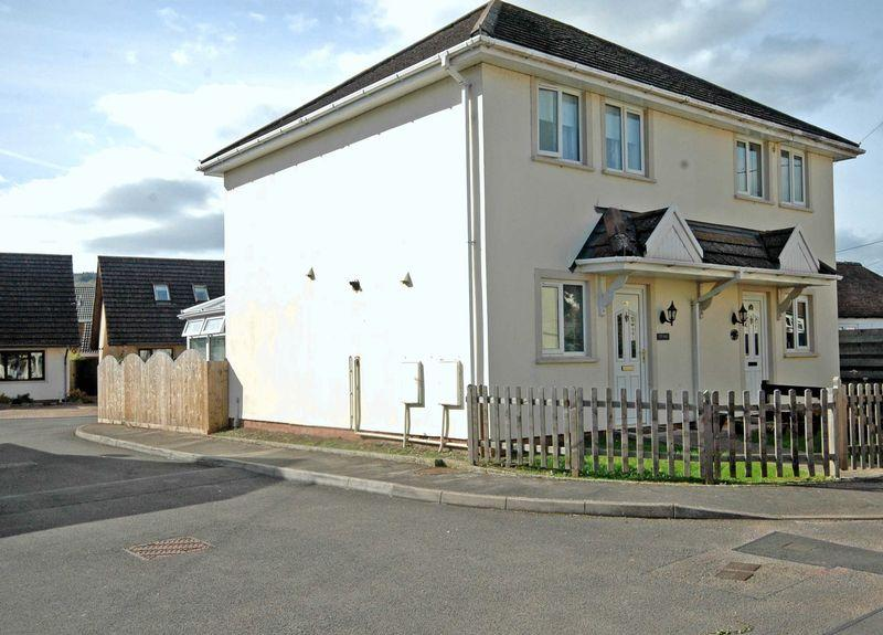2 Bedrooms Semi Detached House for sale in Brook Estate, Monmouth