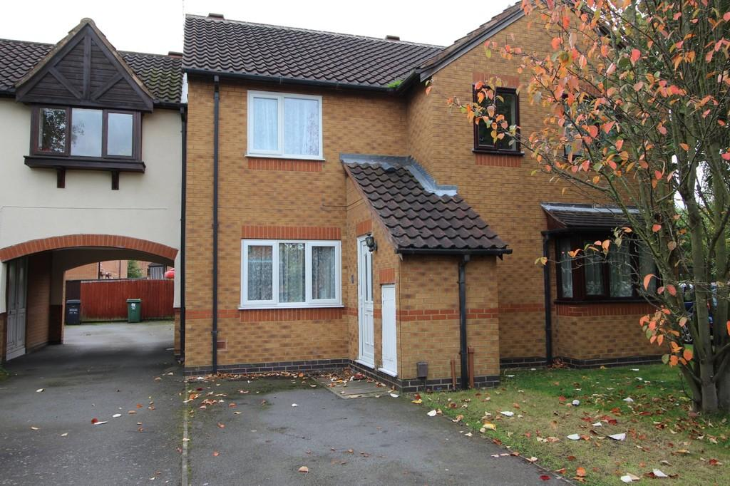 2 Bedrooms Terraced House for sale in Cabin Leas, Loughborough