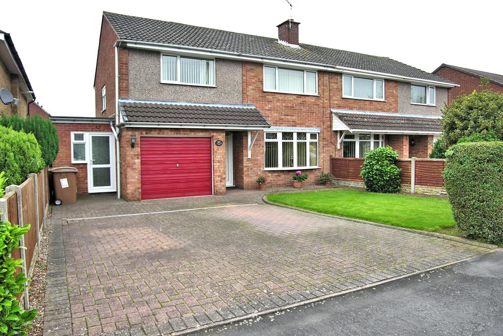 3 Bedrooms Semi Detached House for sale in PORLOCK AVEUE, WEEPING CROSS, STAFFORD ST17