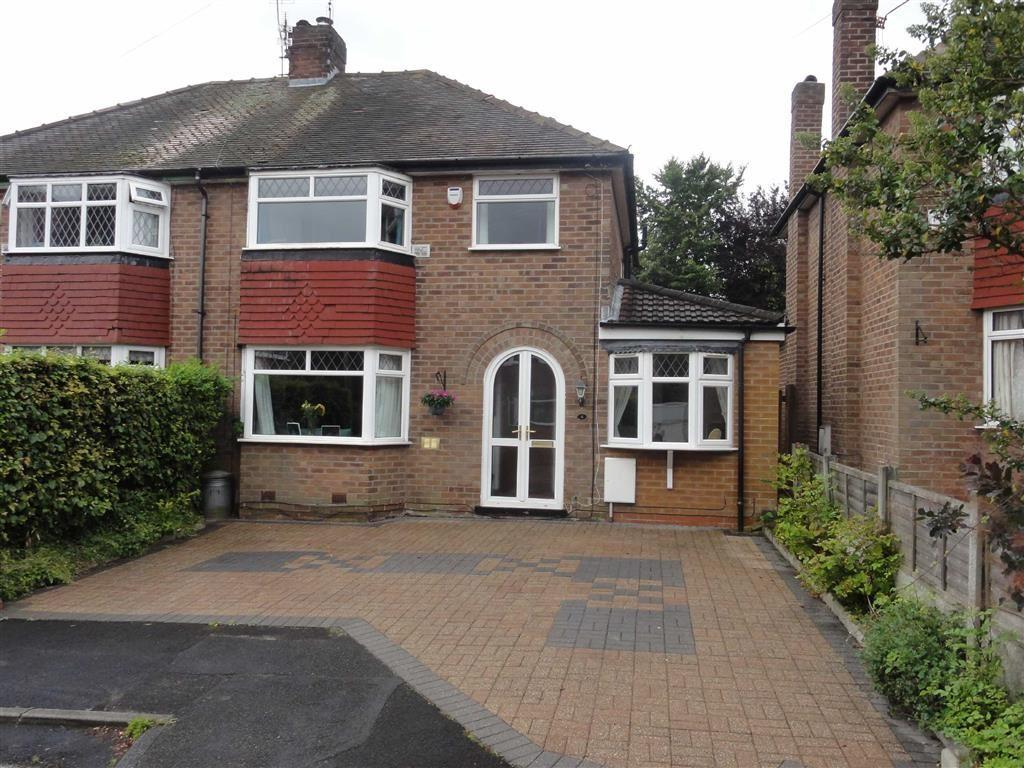 3 Bedrooms Semi Detached House for sale in Peelgate Drive, Heald Green