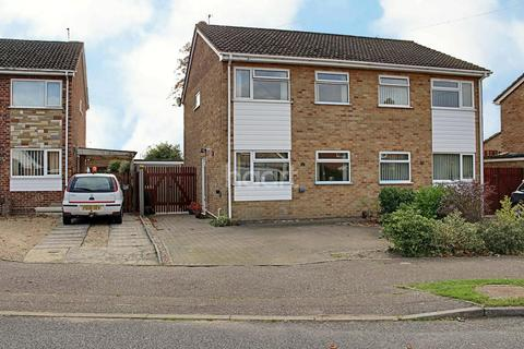 3 bedroom semi-detached house for sale - Meadow Gardens, Old Catton