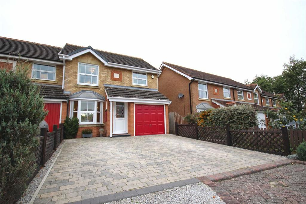 3 Bedrooms Semi Detached House for sale in Glenlea Grove, Up Hatherley, Cheltenham, GL51