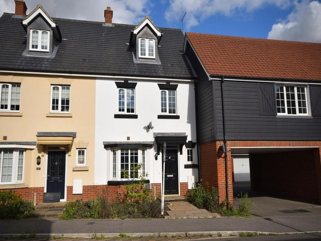 4 Bedrooms Terraced House for sale in Canon Road, Flitch Green, Dunmow, Essex, CM6