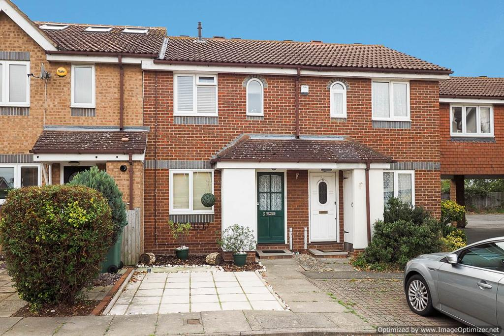 2 Bedrooms Terraced House for sale in Mendip Close, Worcester Park KT4
