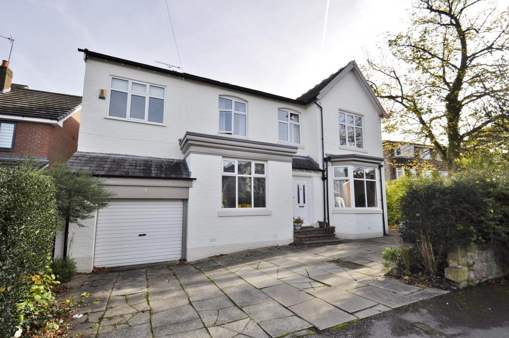 5 Bedrooms Detached House for sale in Ack Lane West, Cheadle Hulme,