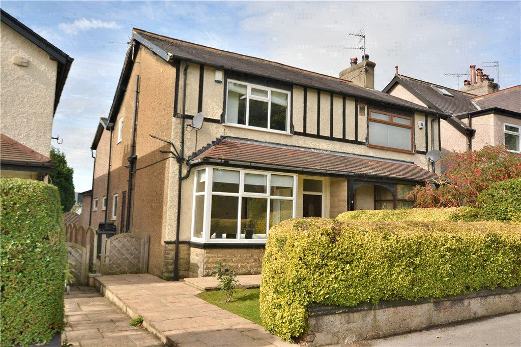 4 Bedrooms Semi Detached House for sale in Victoria Gardens, Horsforth, Leeds