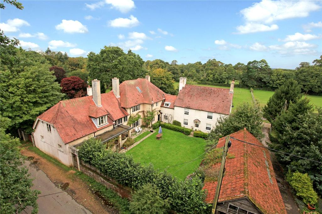 5 Bedrooms Equestrian Facility Character Property for sale in Bisterne Close, Burley, Ringwood, Hampshire, BH24