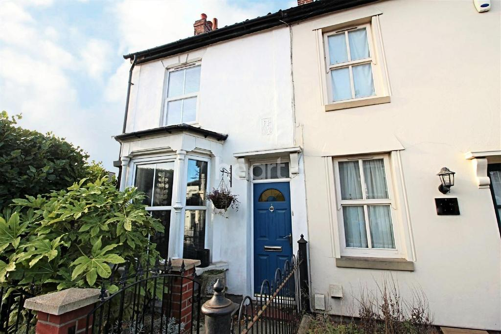 2 Bedrooms End Of Terrace House for sale in Hall Road