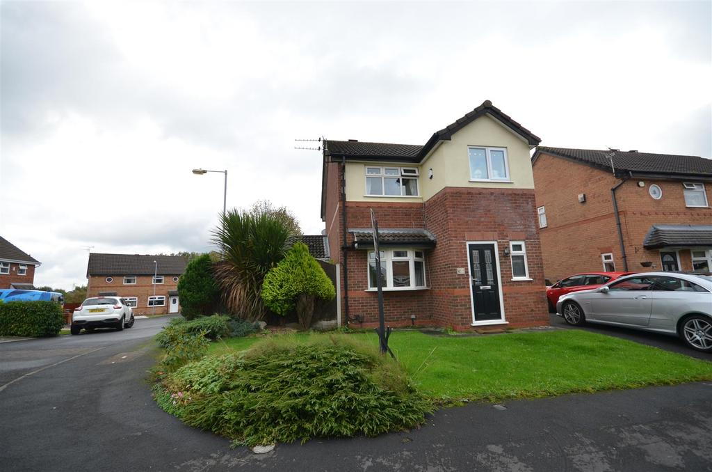 3 Bedrooms Detached House for sale in Grantham Crescent, St. Helens