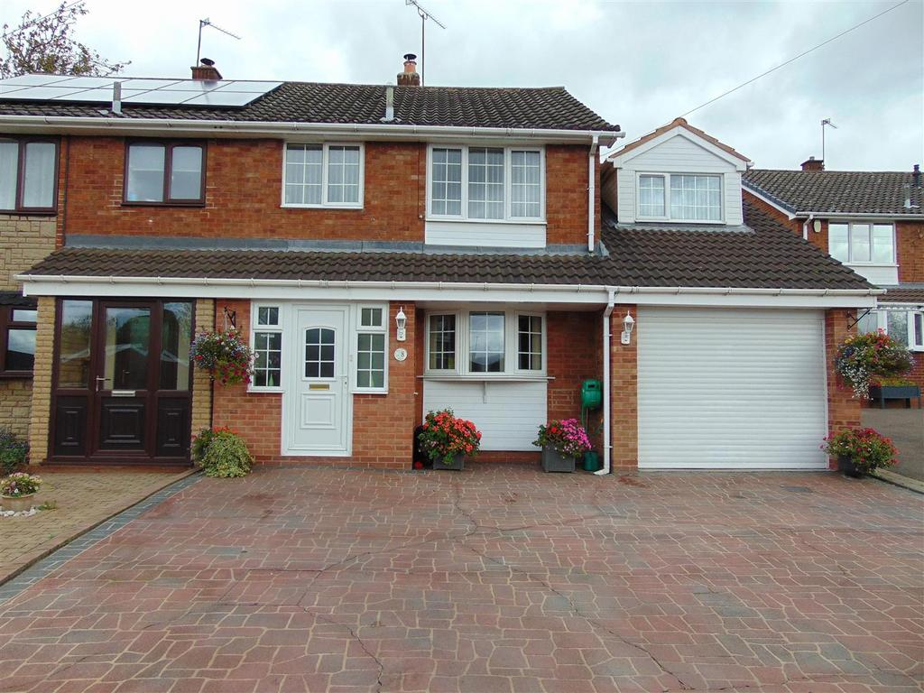 4 Bedrooms Semi Detached House for sale in The Croft, Orchard Hills, Walsall