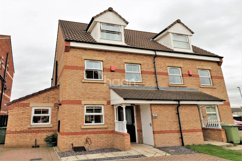 3 Bedrooms Semi Detached House for sale in Buckingham Court, Harworth, Doncaster