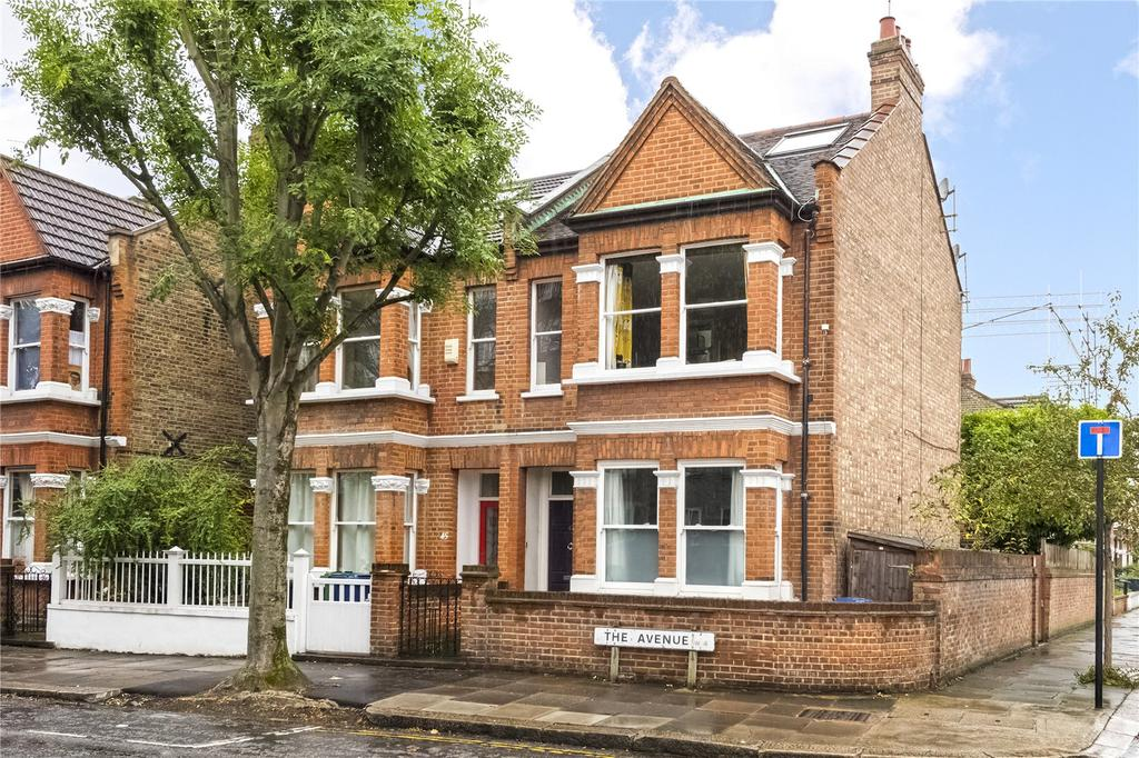 3 Bedrooms Flat for sale in The Avenue, Chiswick, London