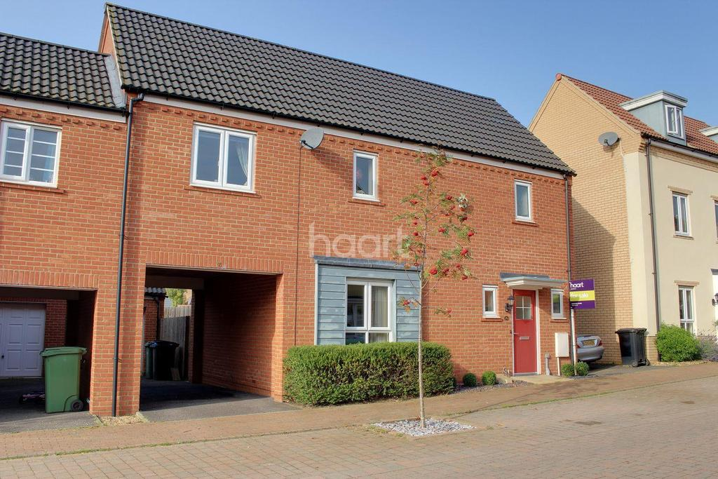 3 Bedrooms End Of Terrace House for sale in Solario Road, Norwich