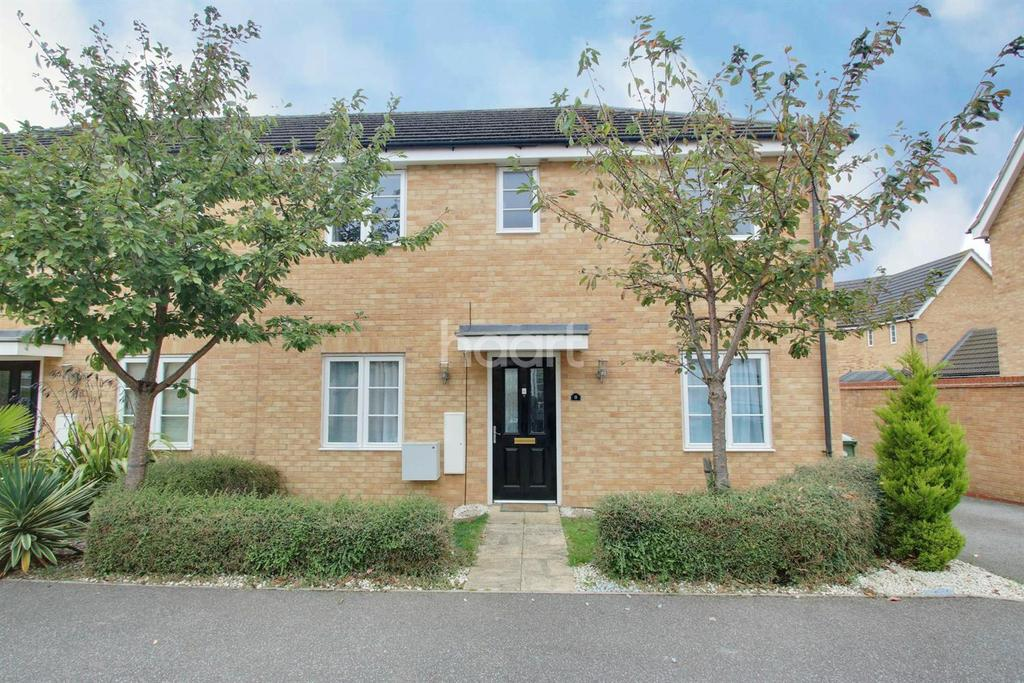 3 Bedrooms Semi Detached House for sale in Wood Grove, Silver End, CM8