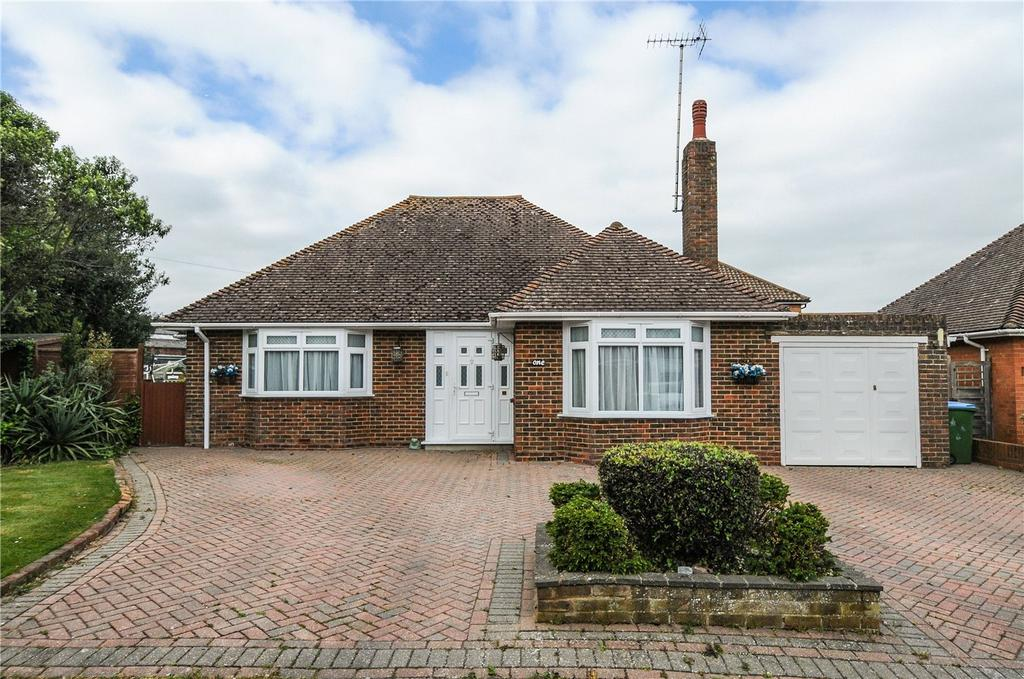 2 Bedrooms Detached Bungalow for sale in Grange Close, Ferring, Worthing, West Sussex, BN12