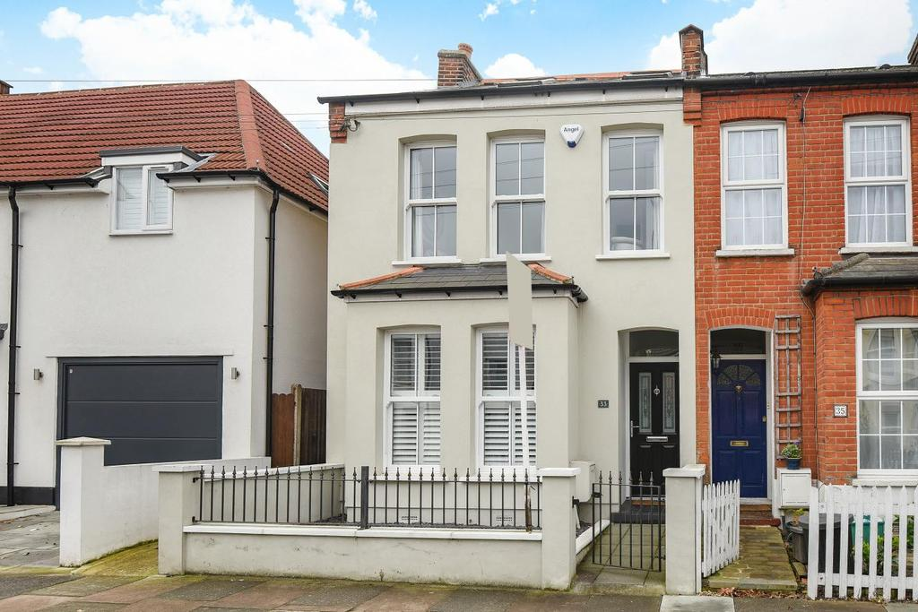 4 Bedrooms End Of Terrace House for sale in Godwin Road, Bromley
