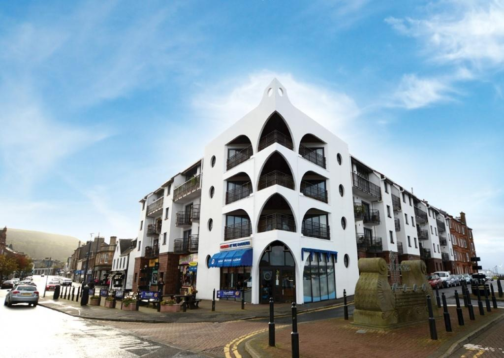 2 Bedrooms Apartment Flat for sale in 14K The Moorings, Main Street, Largs, KA30 8AB
