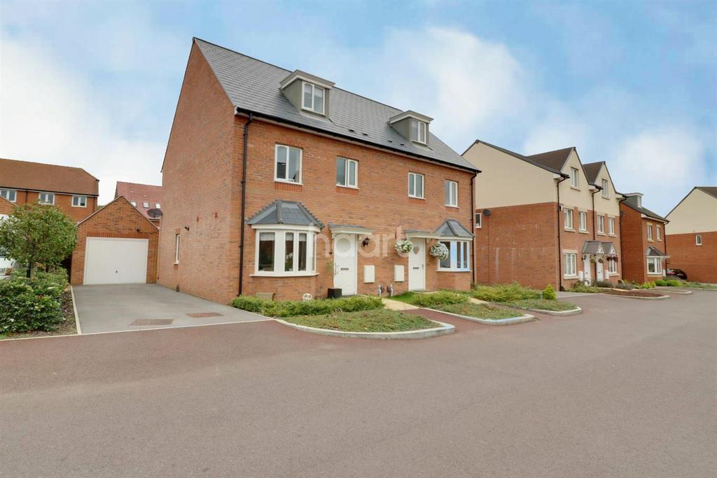 4 Bedrooms Semi Detached House for sale in Cuckoo Lane, Bracknell