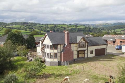 5 bedroom property with land for sale - Collfryn, Trefnanney, Meifod, Powys, SY22