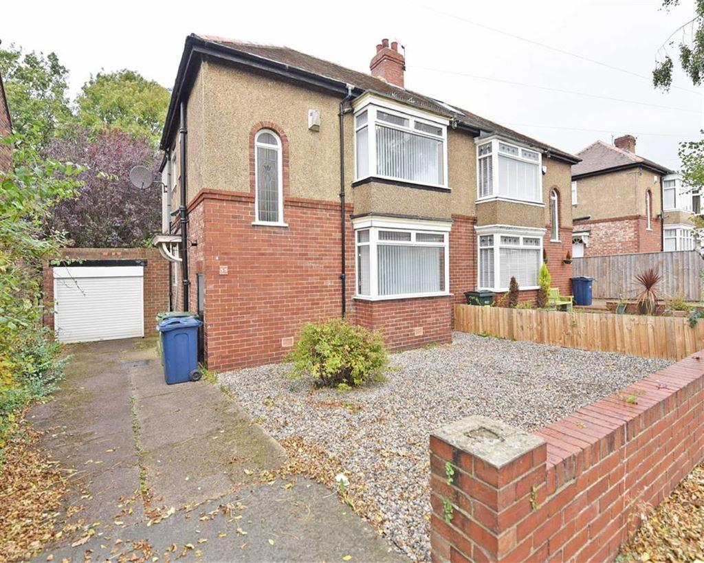 3 Bedrooms Semi Detached House for sale in Calderwood Crescent, NE9