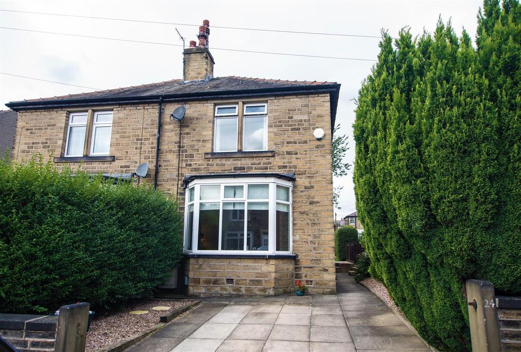 2 Bedrooms Semi Detached House for sale in Heatherfield Crescent, Marsh, Huddersfield, HD1 4QN