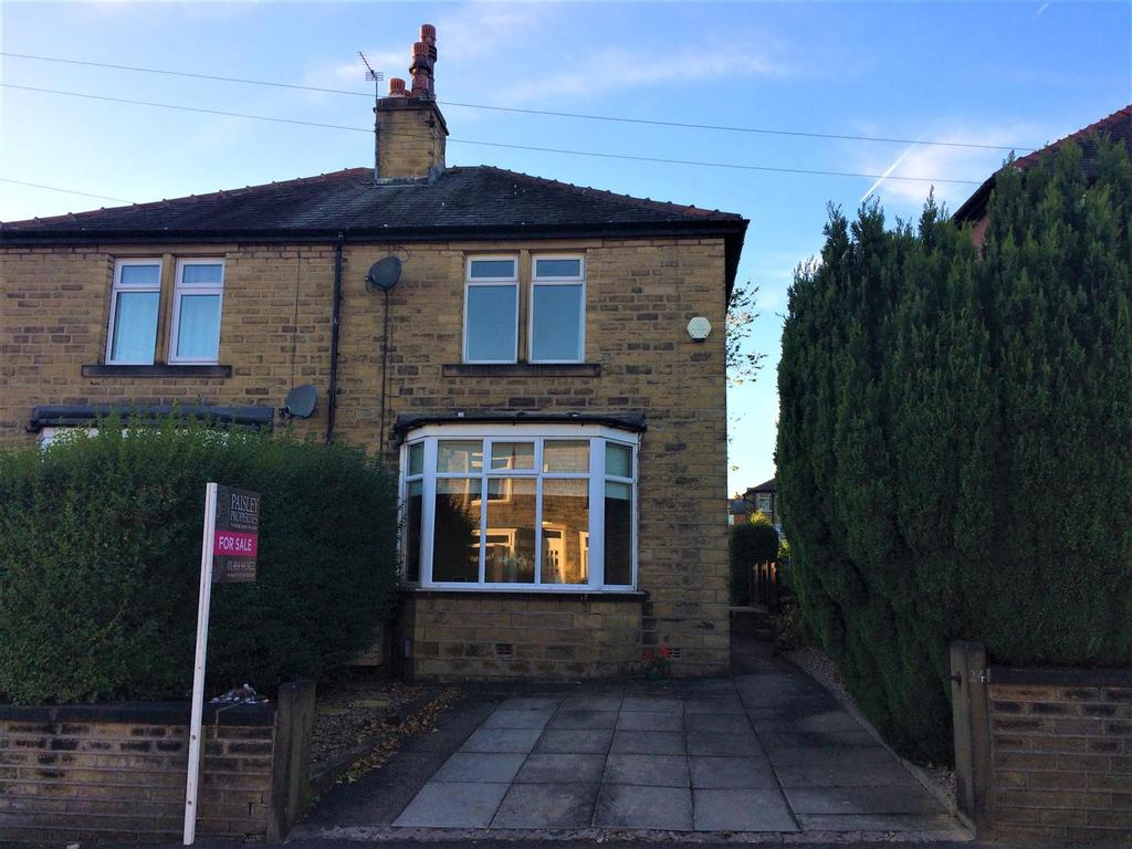 2 Bedrooms Semi Detached House for sale in Heatherfield Crescent, Marsh, Huddersfield, HD1 4QN