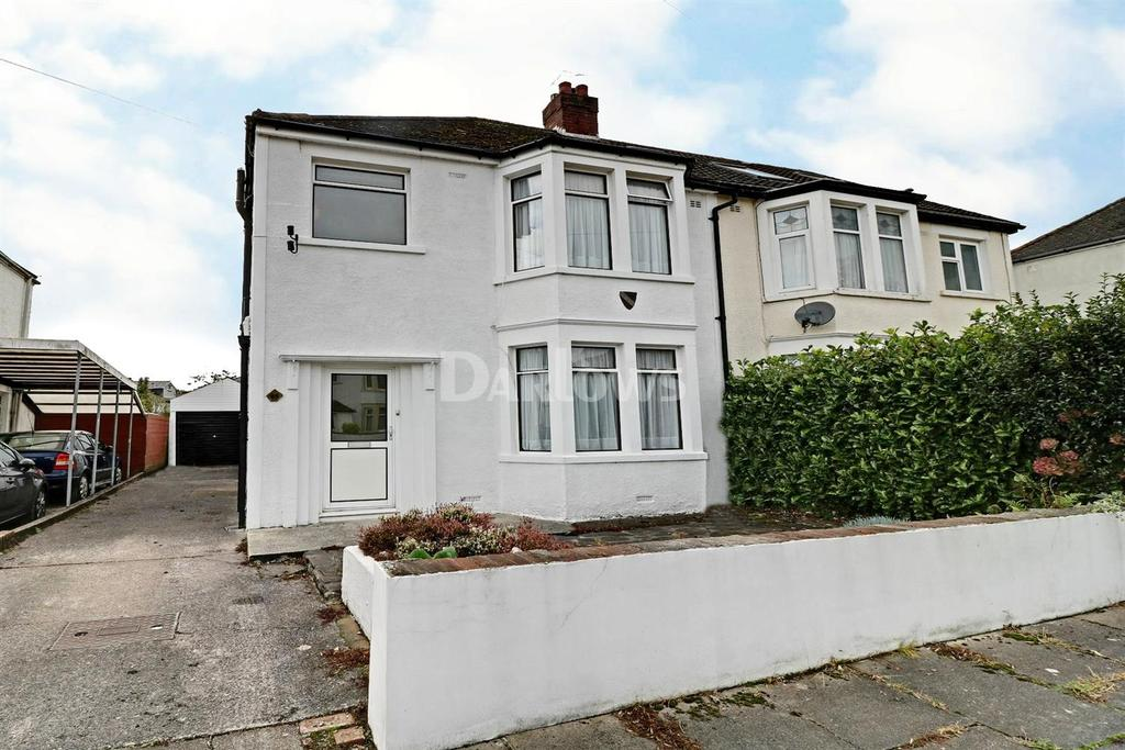 4 Bedrooms Semi Detached House for sale in Coed Glas Road, Llanishen, Cardiff, CF14