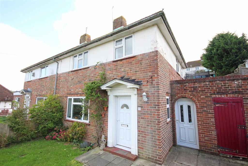 3 Bedrooms Semi Detached House for sale in Birch Grove Crescent, Hollingbury, Brighton