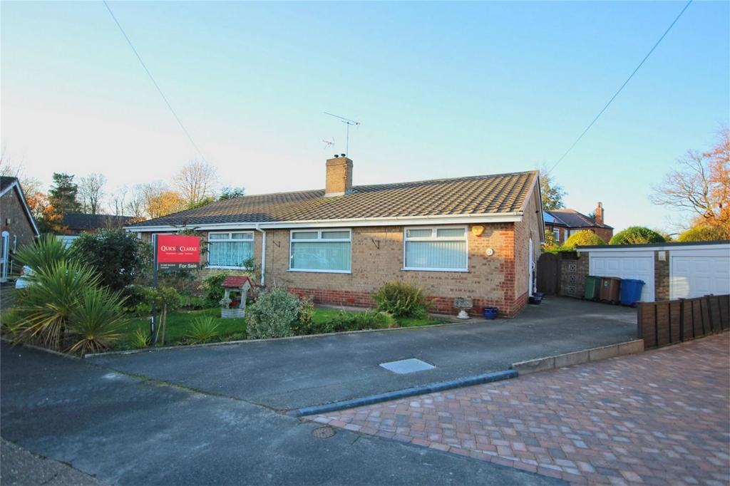 2 Bedrooms Semi Detached Bungalow for sale in Kennington Walk, Cottingham, East Riding of Yorkshire