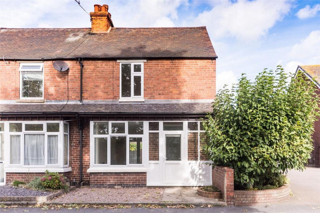 2 Bedrooms Semi Detached House for sale in Furlong Lane, Alrewas, Burton upon Trent, Staffordshire