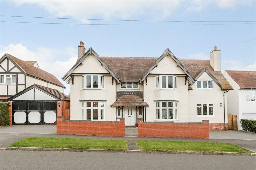 5 Bedrooms Detached House for sale in Lingen Avenue, Hereford