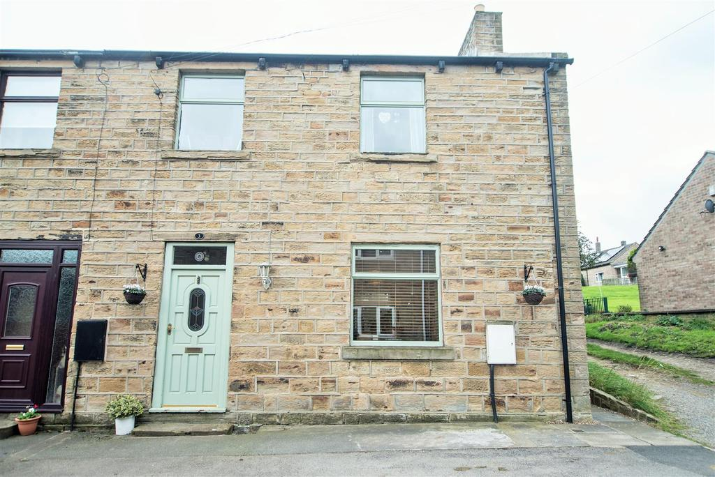 3 Bedrooms Semi Detached House for sale in Holmfield, Clayton West, Huddersfield