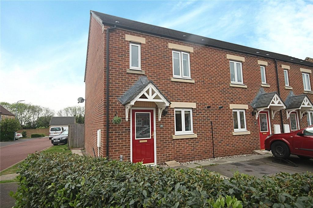 3 Bedrooms End Of Terrace House for sale in Red Admiral Close, Cypress Gate