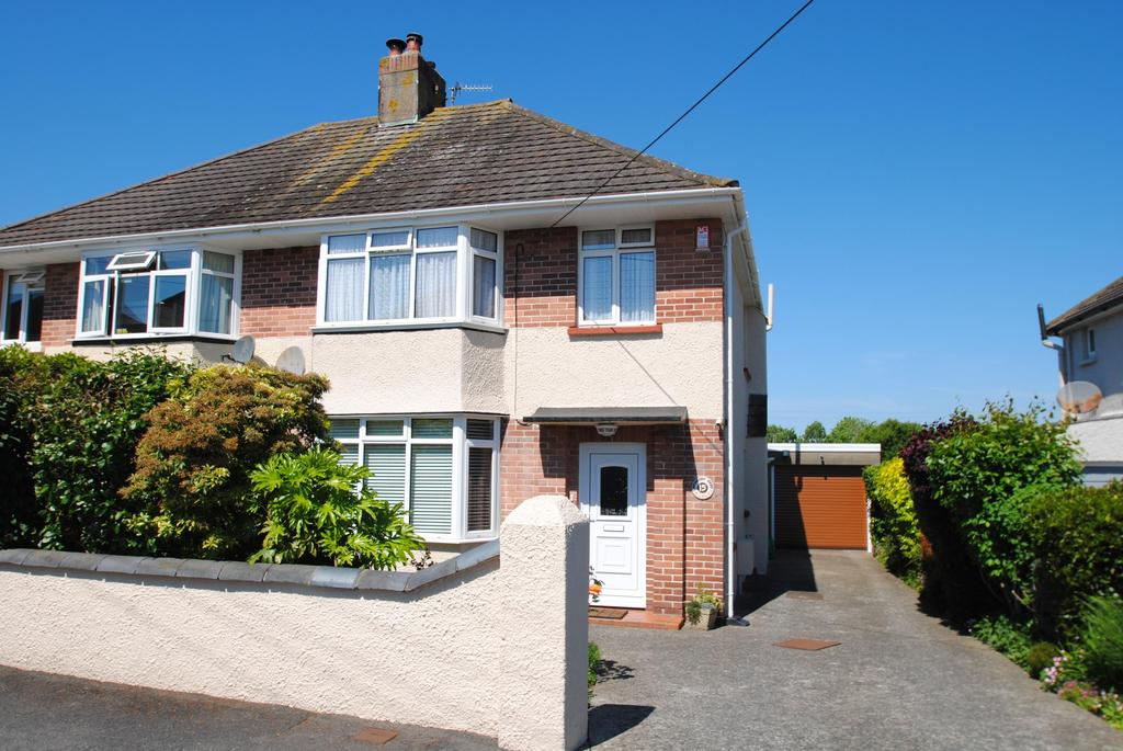 3 Bedrooms Semi Detached House for sale in Highbury Road, Barnstaple