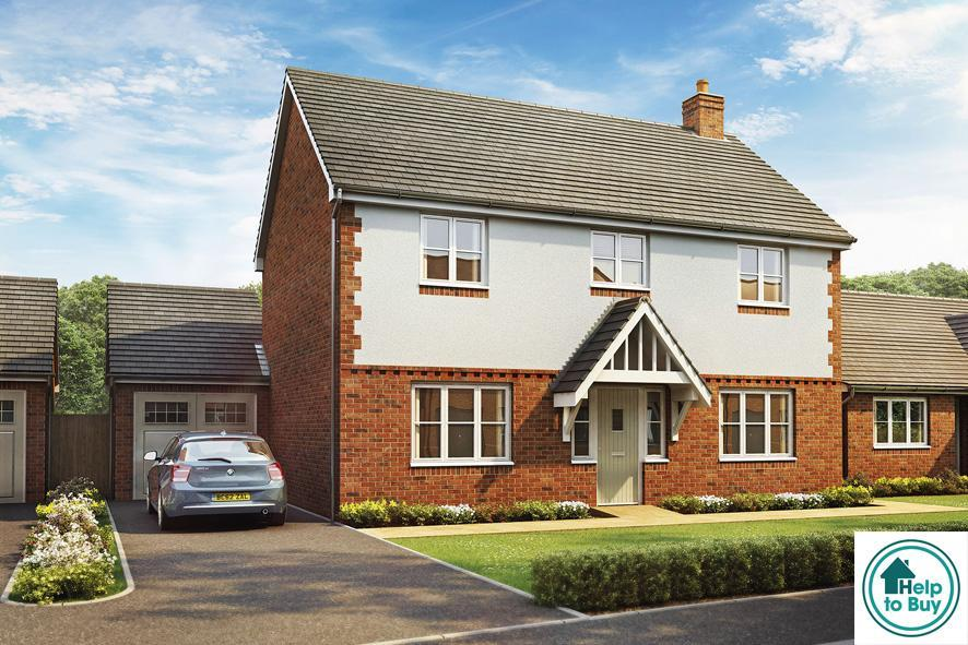 4 Bedrooms Detached House for sale in The Fieldings, Blacksmiths Lane, Lower Moor, Pershore, WR10