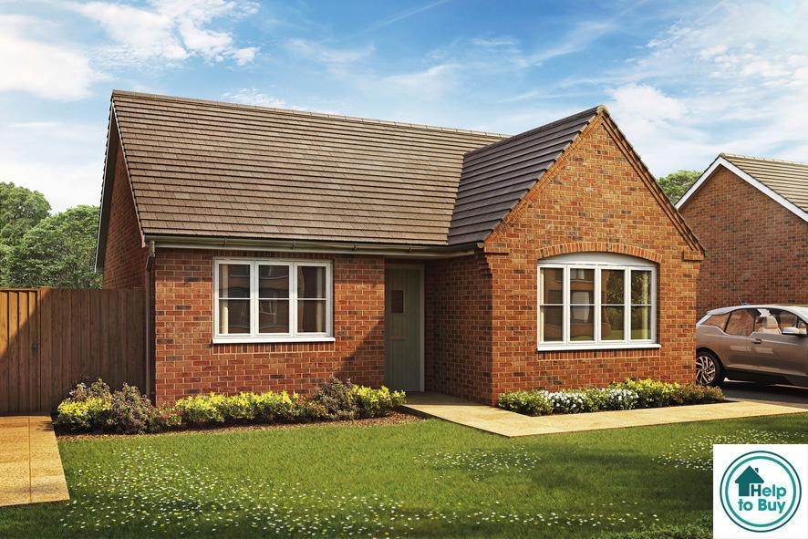 2 Bedrooms Detached Bungalow for sale in The Fieldings, Blacksmiths Lane, Lower Moor, Pershore, WR10