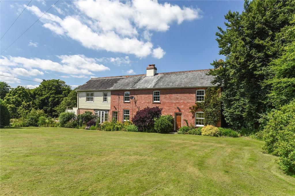 4 Bedrooms Detached House for sale in Rackenford, Tiverton, Devon