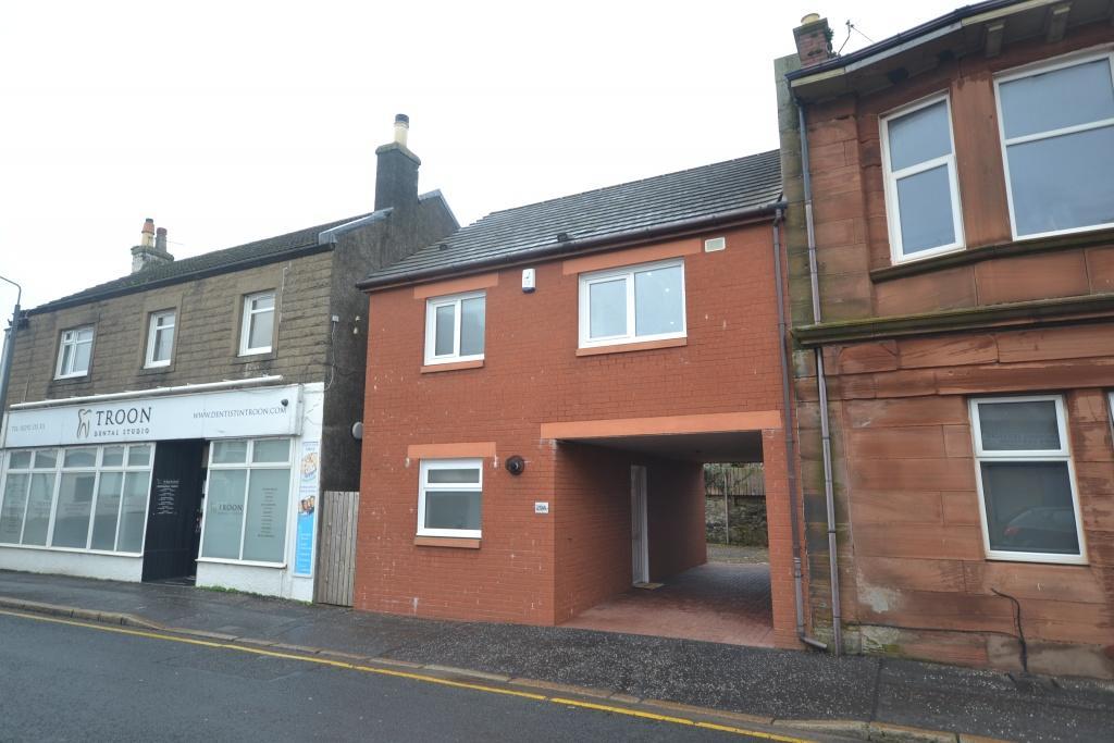 2 Bedrooms Villa House for sale in 29A Barassie Street, Troon, KA10 6LX