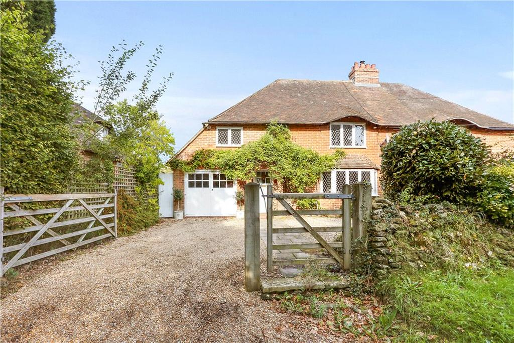 5 Bedrooms Semi Detached House for sale in School Lane, Stedham, Midhurst, West Sussex, GU29