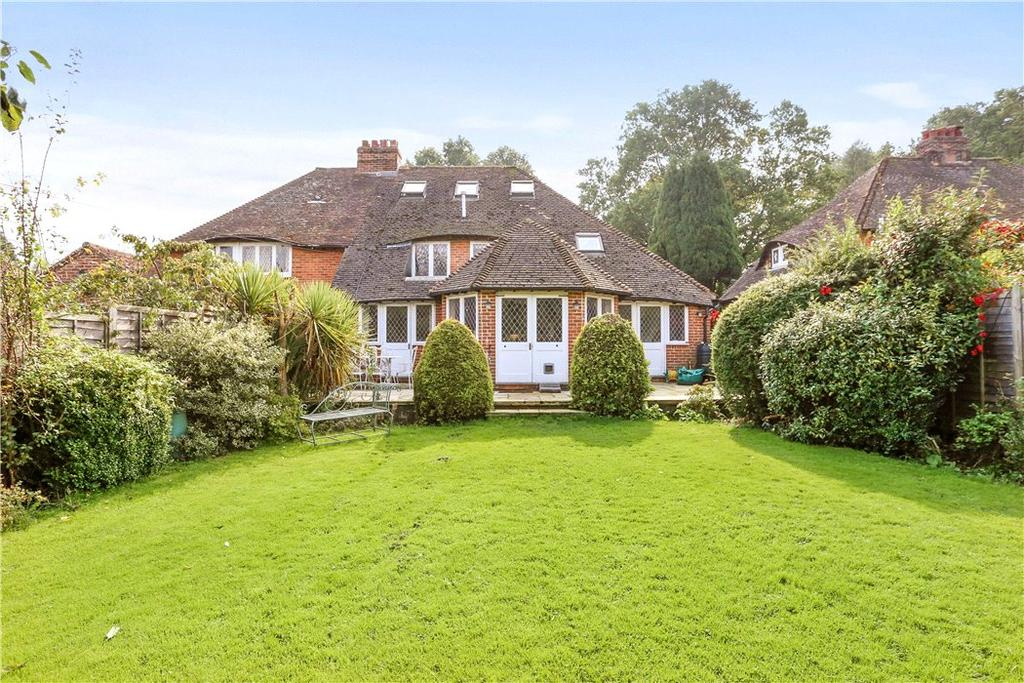 5 Bedrooms Semi Detached House for sale in School Lane, Stedham, Midhurst, West Sussex, GU29