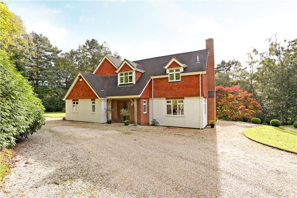 5 Bedrooms Detached House for sale in Hammer Lane, Grayshott, Hindhead, Hampshire, GU26