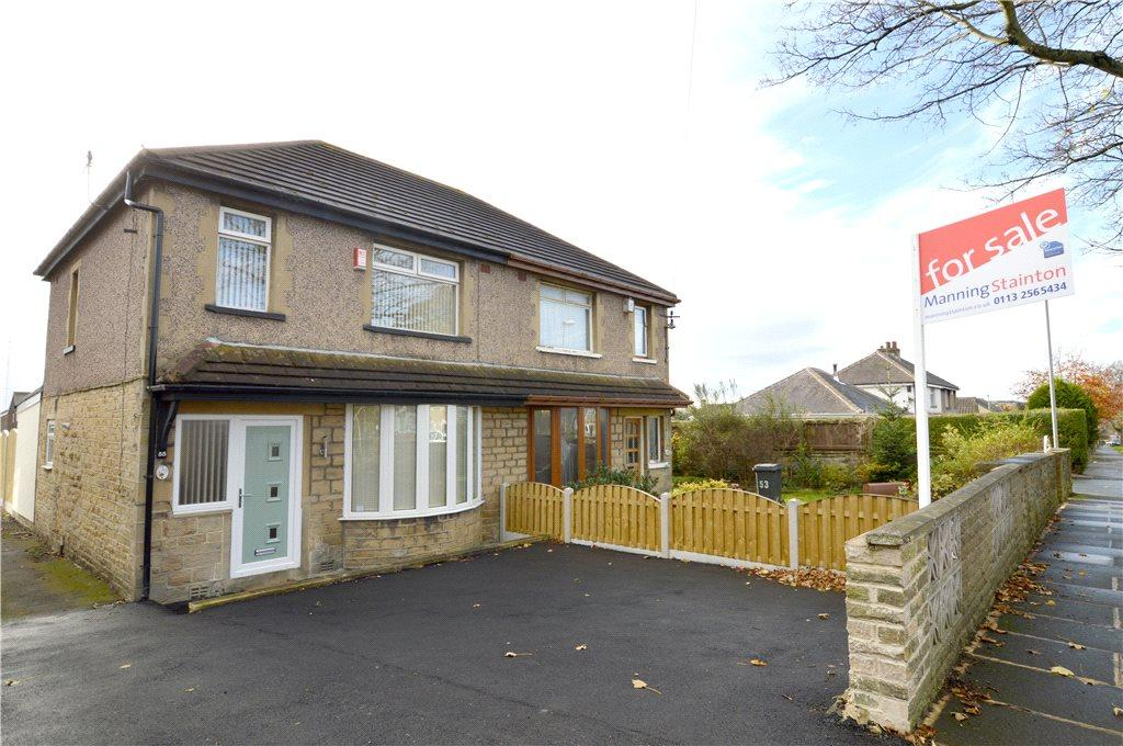 3 Bedrooms Semi Detached House for sale in Tyersal Road, Bradford, West Yorkshire