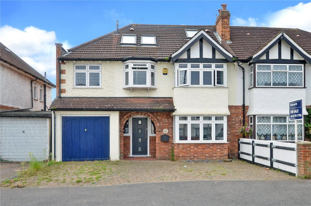 5 Bedrooms Semi Detached House for sale in Ash Road, Sutton, SM3