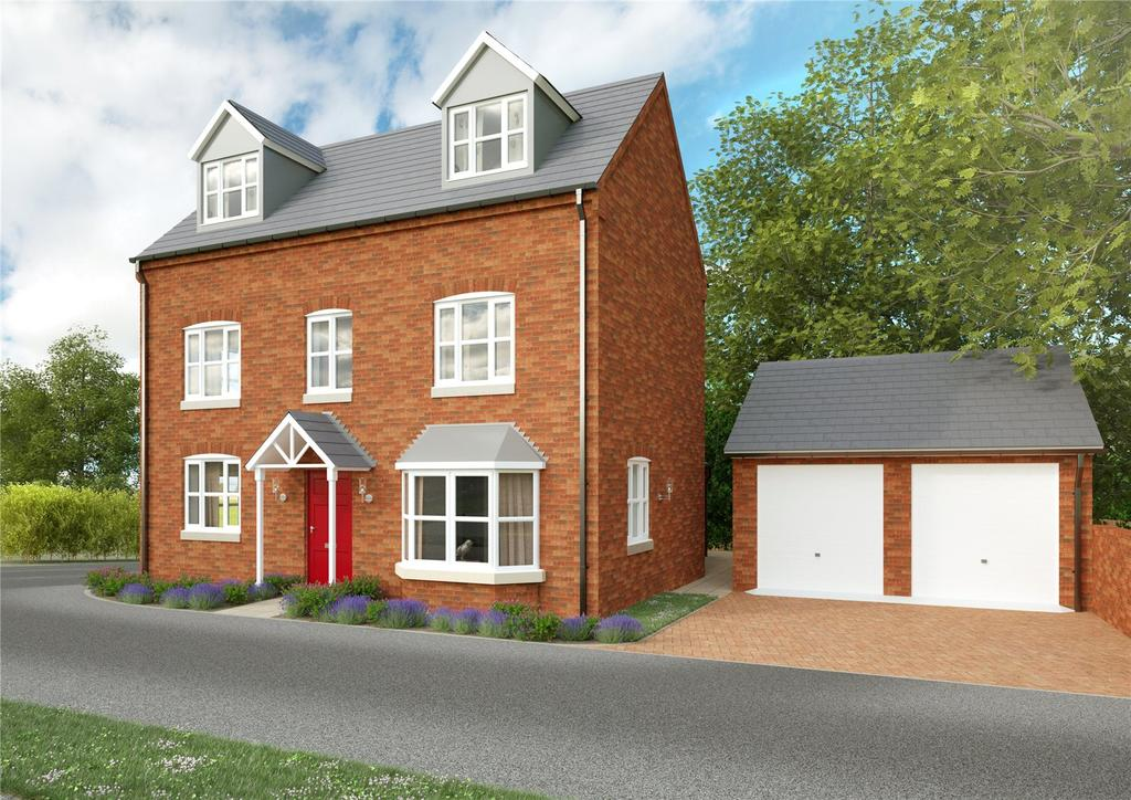 5 Bedrooms Detached House for sale in Wyndham Grange, Melton Mowbray, Leicestershire