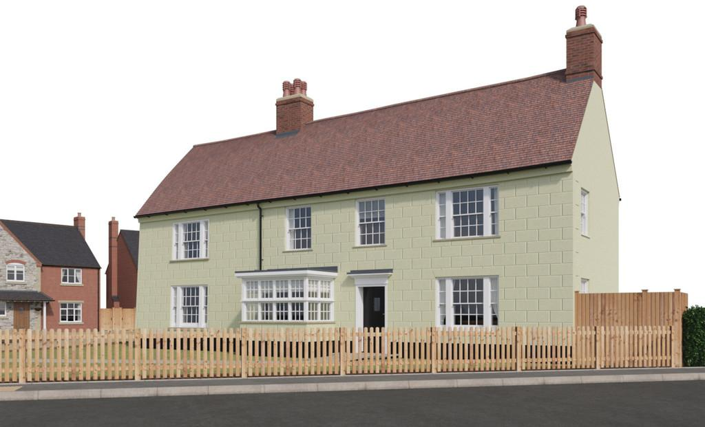 4 Bedrooms Detached House for sale in Banbury Road, Gaydon