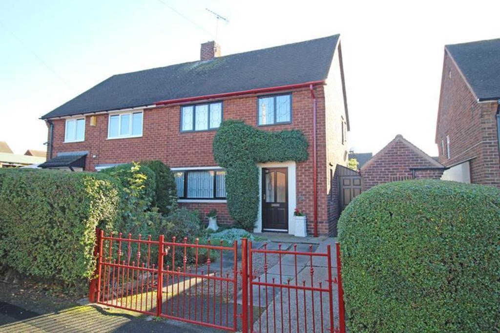 3 Bedrooms Semi Detached House for sale in 18 Masefield Place, Worksop