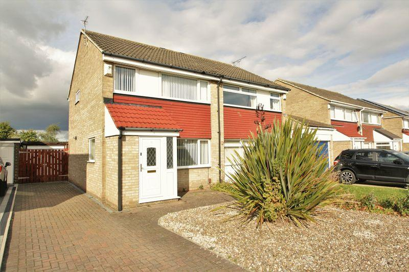 3 Bedrooms Semi Detached House for sale in Rook Lane, Crooksbarn, Norton, TS20 1SD