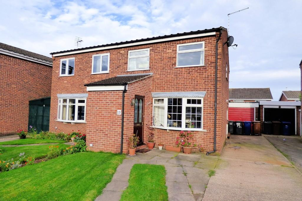 3 Bedrooms Semi Detached House for sale in Hillcrest, Tutbury