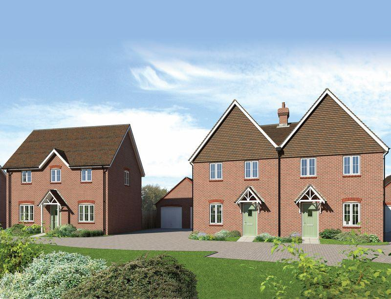 3 Bedrooms Semi Detached House for sale in Plot 58, Downsview Park, Wantage