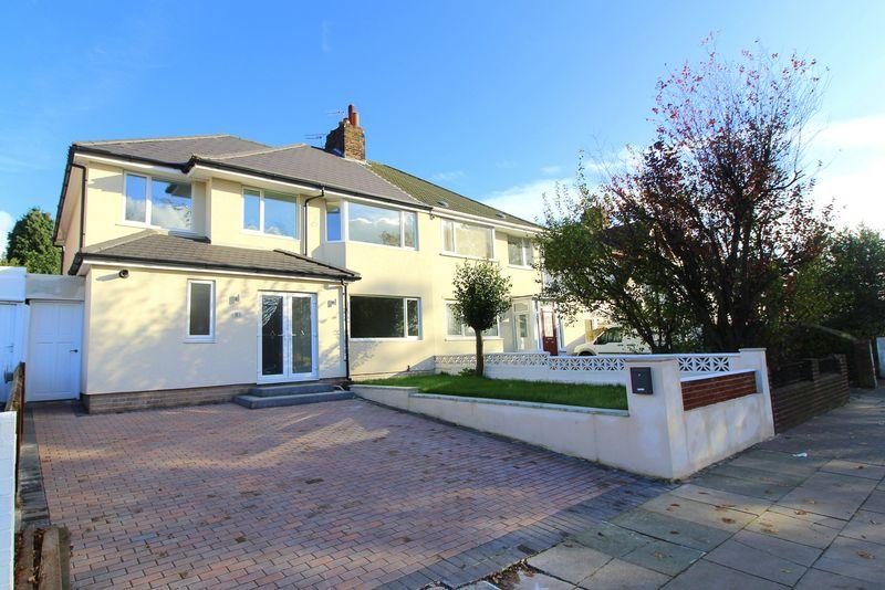 4 Bedrooms Semi Detached House for sale in Queens Drive, Childwall